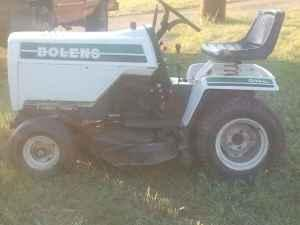 Bolens G14XL garden tractor w/ attachments - $650 (Sharon WI)