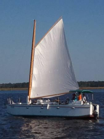 Bolger As 45 Sharpie Sail Boat For Sale In Choctaw Beach