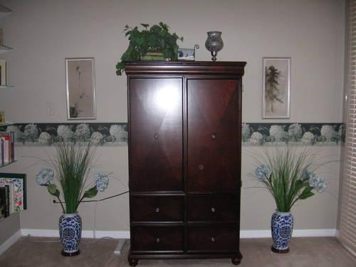 Bombay Company Emissary Entertainment Center TV Cabinet