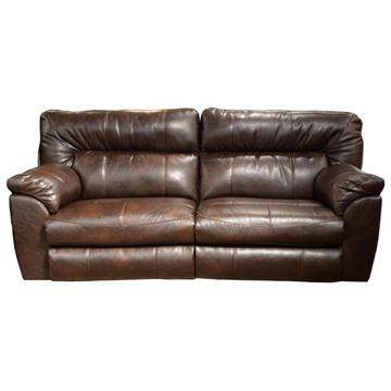 Charmant Bonded Leather Sofa And Cuddler Recliner