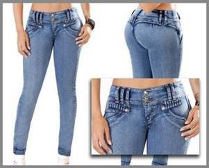 Bonitos jeans levantapompis al mayoreo for Sale in Los ...