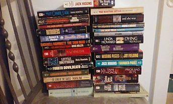 BOOKS - Lot of 28 Paperback Books W/ Free Bag