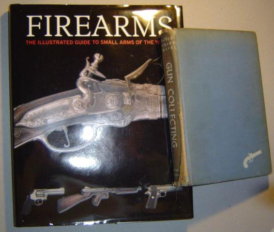 Books on antique firearms and collecting