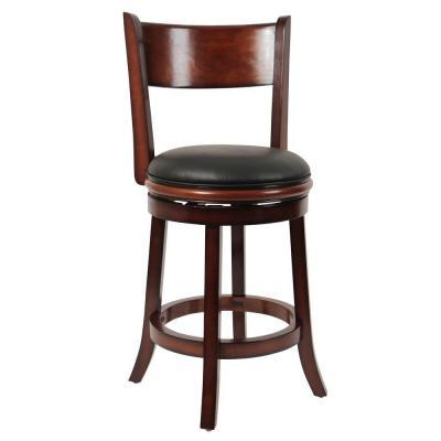 Counter Height Swivel Bar Stools : Boraam Palmetto Counter Height Swivel Bar Stool in Brandy for Sale in ...