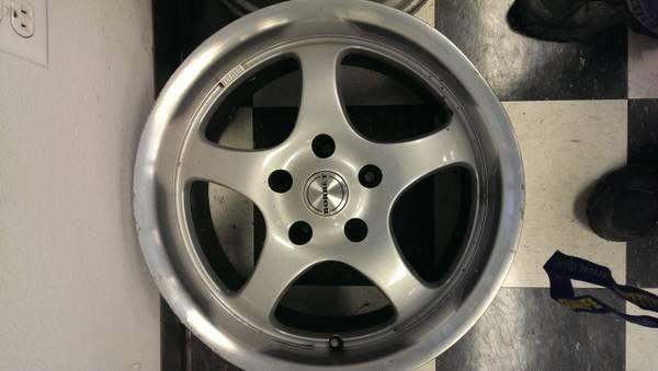 Borbet wheels 17 inch by 8, 5X120 for BMW, Audi VW and many more - $400