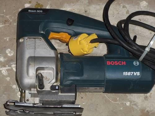 Bosch 1587VS variable speed jig saw, sabre saw, exc. condition