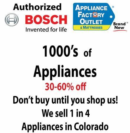 Bosch Dealer-Refrigerator-Dishwasher-Cooktop-Oven-Range-Hood-Microwave