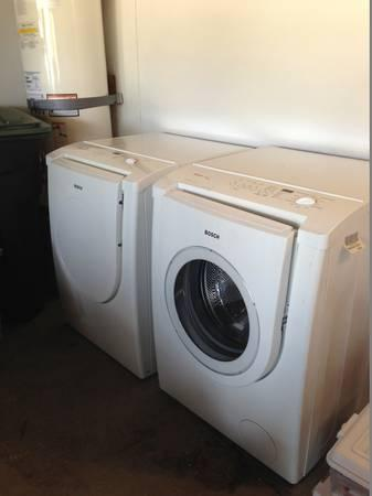 Bosch Nexxt Washer And Electric Dryer Great Condition For Sale In El Toro