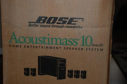 Bose Acoustimass 10 Series III Home Theater System with