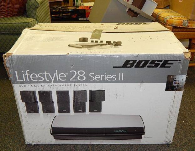 Bose Lifestyle 28 series ii DVD Home theater system