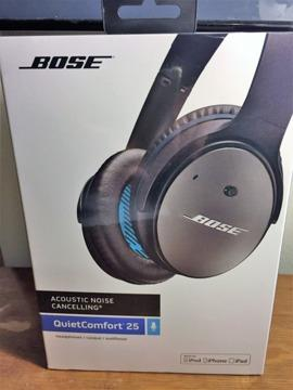 Bose QC 25 Noise Cancelling Headphones - Still in
