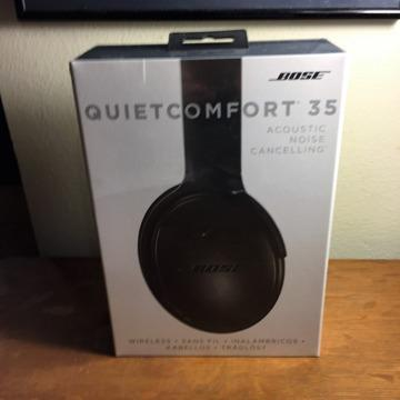 Bose QC 35 Wireless Headphones - still in sealed box