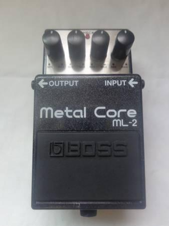 boss ml 2 metal core distortion guitar pedal for sale in amber washington classified. Black Bedroom Furniture Sets. Home Design Ideas