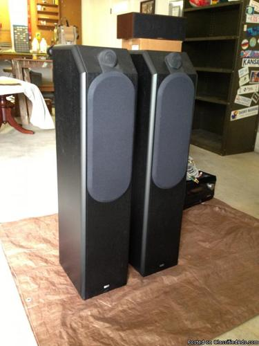 Bowers  Wilkins speakers with Integra DTR 8.9 Receiver and Monster Cables
