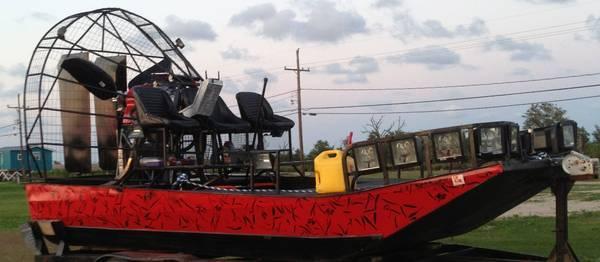 Bowfishing Airboat - $35000