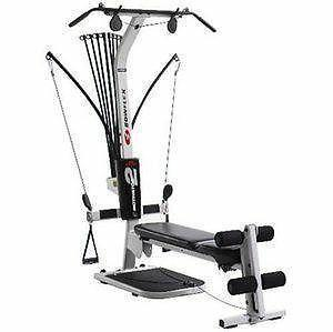 Bowflex Motivator 2 Compact Folding Home Gym with Lat  Leg Attachment