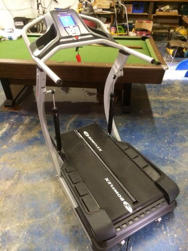 Bowflex Treadclimber TC5500 w MAT POLAR HEART comp to tc20, tc5500, tc5000