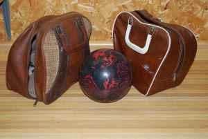 Bowling Ball & 2 Bags - $35 (Athens, Alabama)