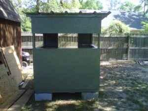 box blind deer stand - $325 (valdosta)