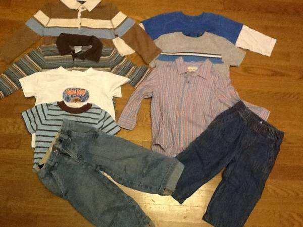 Boy 18m/2T fall & winter clothes - 35 items for $20 -