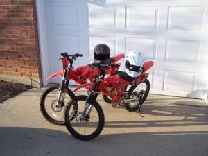 Boy X Games Moto Bike And Full Faced Helmet Beavercreek Ohio
