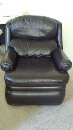 Bradington-Young Leather Recliner. real leather! - $200