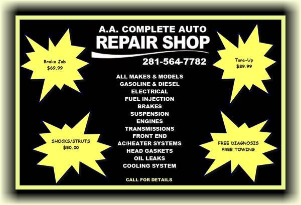 Brake , Axle , Wheels & Tires Service/ Replacement !!