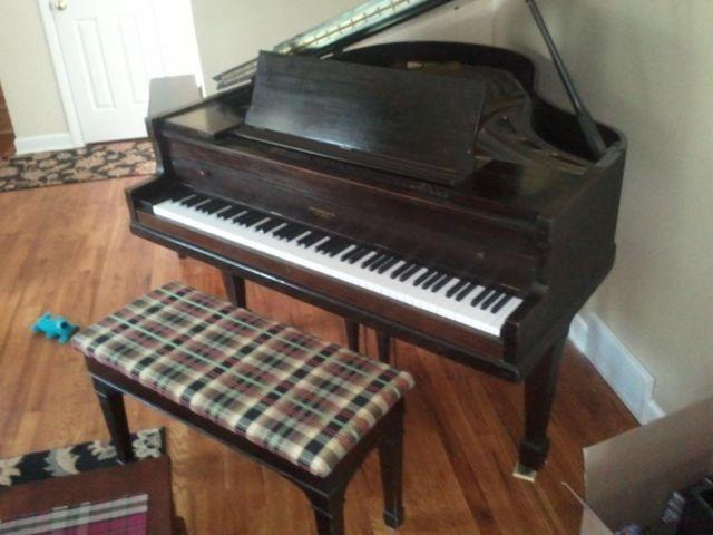 Brambach Baby Grand Piano For Sale In Grand Rapids
