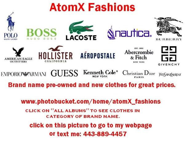 Available Clothing Brand Names