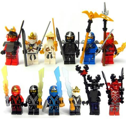 brand new 12 sets ninjago mini figures lego 45 americanlisted_37951309