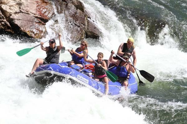 BRAND NEW!! 14' Self Bailing Raft - $1699