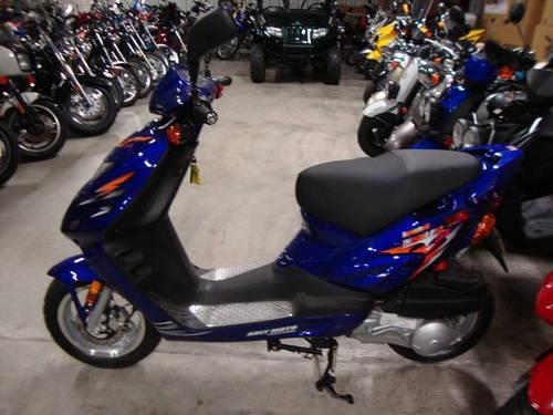 Brand New 2008 Adly TB150 - Thunder Bike 150 Scooter