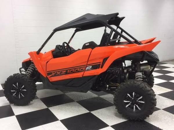 brand new 2016 yamaha yxz 1000r 4x4 pure side x side free delivery for sale in norman. Black Bedroom Furniture Sets. Home Design Ideas