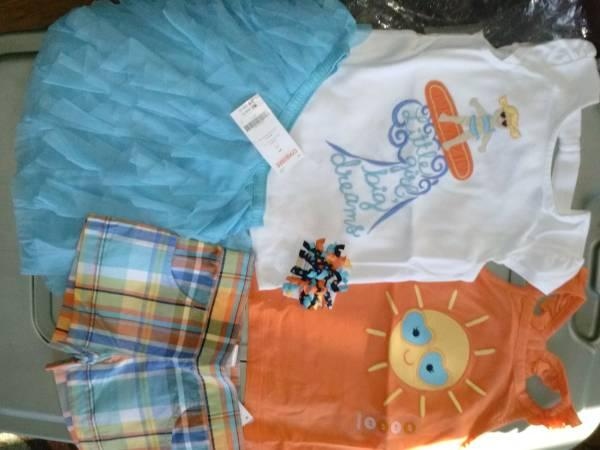 brand new and gently used gymboree clothes