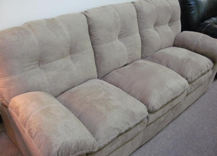 Brand New Beige Pillow Top Seat Sofa Loveseat Free Delivery For Sale In Pueblo
