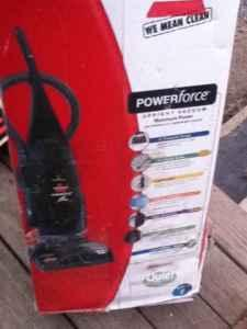 Brand New Bissell Powerforce Upright Bagged Vacume