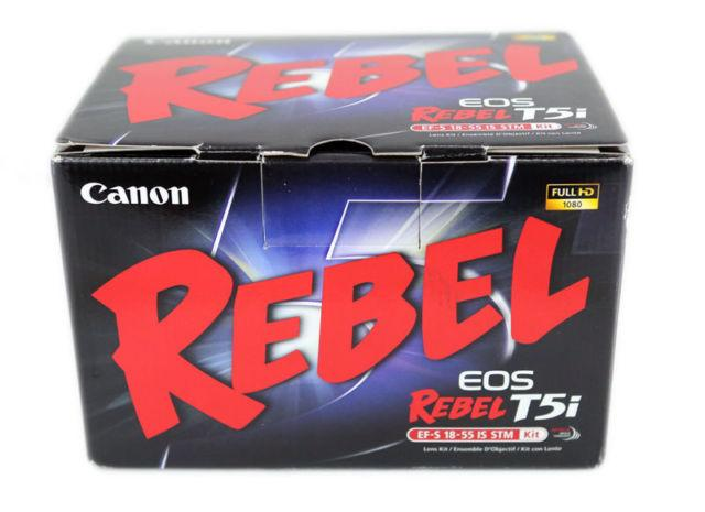 BRAND NEW!! Canon EOS Rebel T5i DSLR Camera with