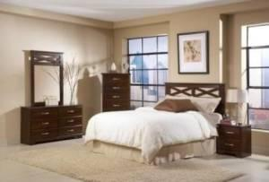 Brand New Cappuccino Bedroom Set (Greenville, Anderson