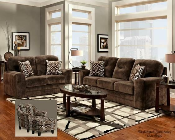 Brand New Champion Chocolate Sofa And Loveseat Combo For Sale In Tulsa Oklahoma Classified