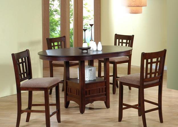 Counter Height Table And Chairs For Sale : COUNTER HEIGHT TABLE AND FOUR CHAIRS - (BOWLINGGREENOVERSTOCK for sale ...