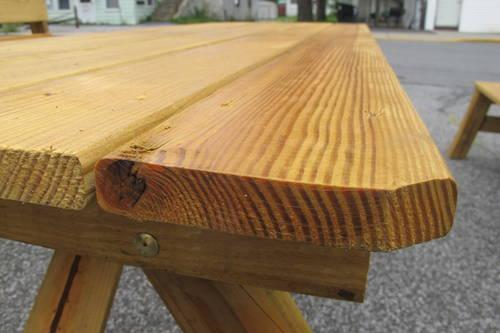 Brand New Country Rustic Picnic Tables For Sale In Campbell Hall - Long picnic table for sale