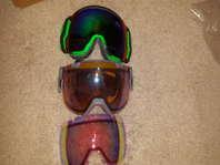 brand new I/O7 goggles I/OX and vantage helmet