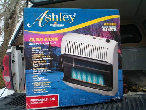 Brand New In Box Ashley Gas Heater By Mr Heater Lp