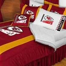 Brand New Kansas City Chiefs Twin Full Size Bedding Set