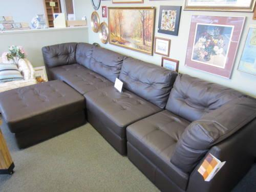 brand new leather sectional for sale in olympia washington classified. Black Bedroom Furniture Sets. Home Design Ideas