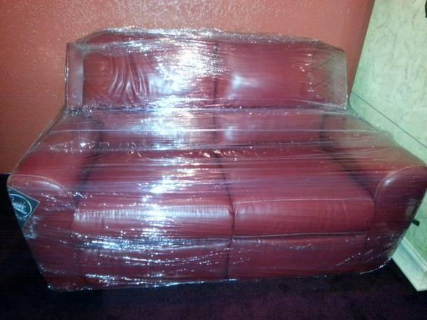 Brand New Leather Sofa Loveseat Red Recliner For Sale In Brownsville Texas Classified