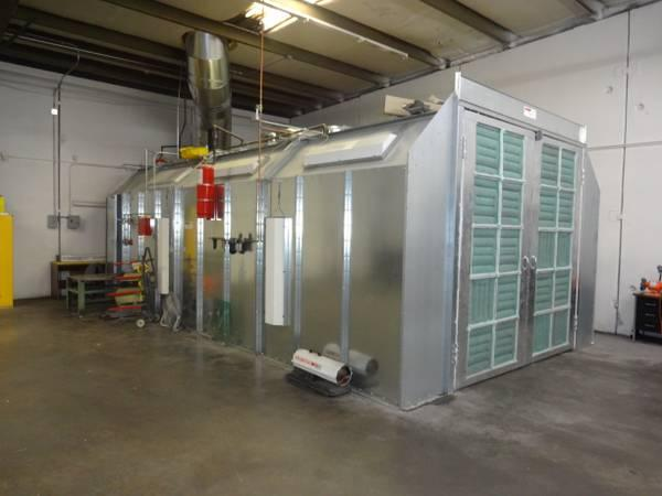 brand new paint booth for rent for sale in denver