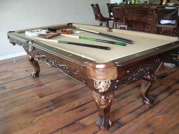 BRAND NEW POOL TABLE KING NAPOLES For Sale - Brand new pool table
