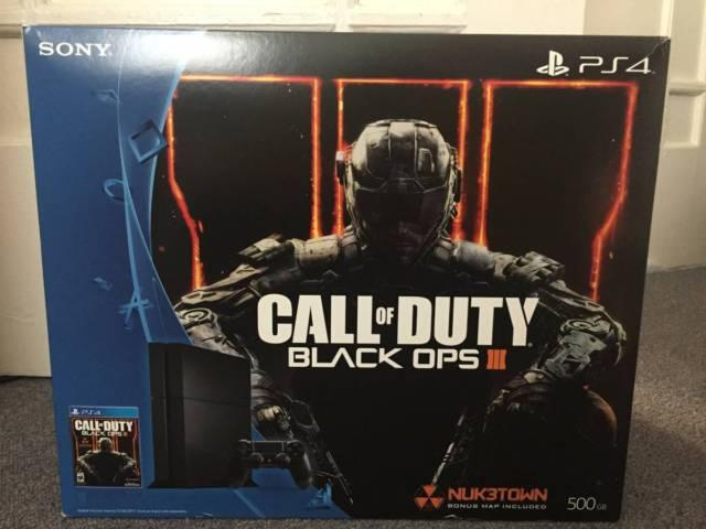 Brand New PS4 500GB COD Black Ops III Edition For Sale