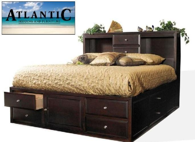 brand new queen 10 draw storage bed new in box baymeadows for sale in jacksonville. Black Bedroom Furniture Sets. Home Design Ideas